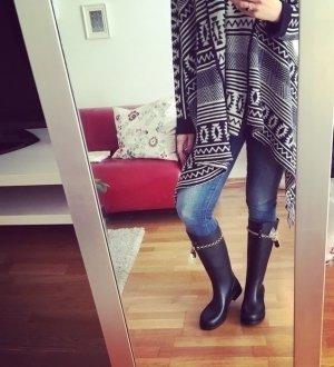 Neue originale Moschino Stiefel Gummistiefel Gr 41 Blogger