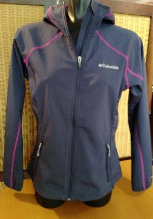 Columbia Veste d'extérieur gris violet-bleu violet polyester