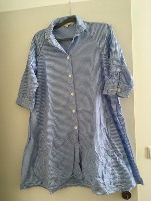 Neue Oversize Bluse blau/weiß gestreift von der Marke E.d.