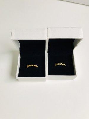 Neue Pandora Gold-Herzen Ringe
