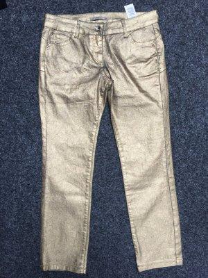 Neue Patrizia Pepe Jeans Gold