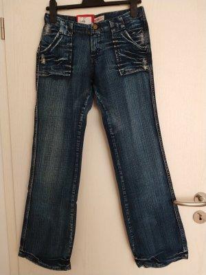 Pepe Jeans London Boot Cut Jeans blue cotton