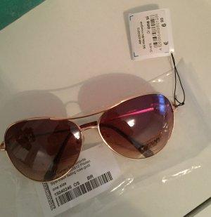 Neue Pilotenbrille Gold