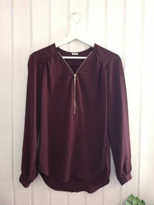 Neue Pimkie Bluse in Bordeaux rot gr. s