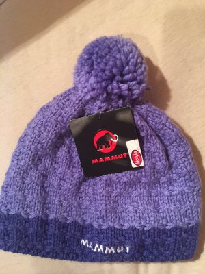 Mammut Bobble Hat lilac-purple new wool