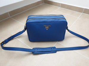 Prada Gekruiste tas blauw-neon blauw