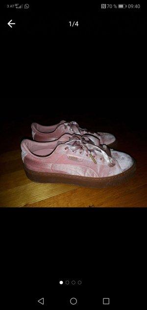 Neue Puma Basket Schuhe in Rosa, Größe 39
