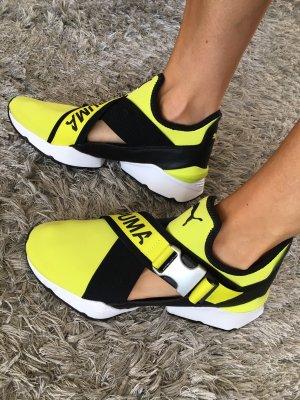 Neue Puma Eos Muse Sneaker 38,5 gelb neon Turnschuhe