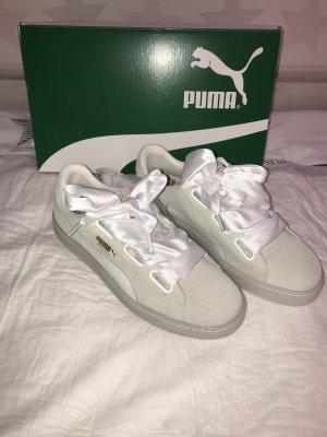 NEUE Puma Sneaker Gr.41 weiß Suede Heart Artica Sneakers Low