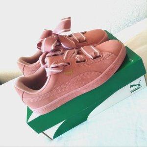NEUE Puma Suede Heart 2 Sneaker in Cameo brown Schuhe 39