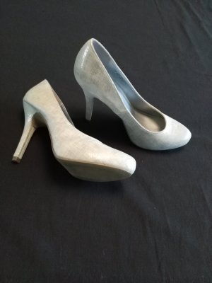 Graceland Tacones color plata