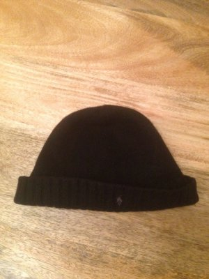 Neue Ralph Laure Woll Mütze schwarz