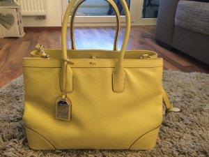 Neue Ralph Lauren Handtasche Sommergelb