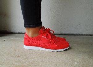 Neue Reebok Sneaker im Knalligen Rot/Orange