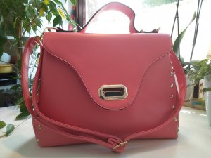 Carry Bag pink-pink synthetic