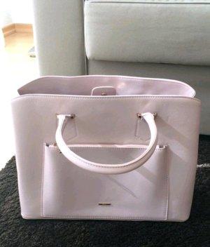 neue rosefarbene tasche