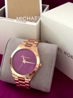 Neue, rosegoldene Uhr von Michael Kors