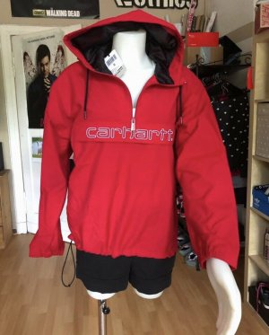 Carhartt Impermeabile rosso-bianco