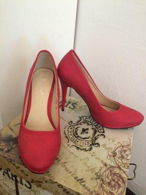 Neue rote High Heels von Belle Women Gr.39
