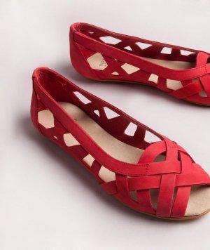 NEUE rote Sandale CARLA von Kauf Dich Glücklich