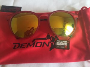 neue rote Sonnenbrille / Montana Eyewear
