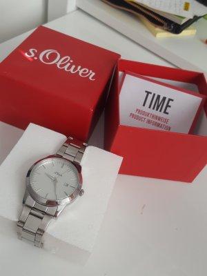 neue s.Oliver Uhr