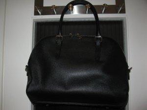 Neue Salamander Tasche aus schwarzem Saffianoleder, passt zu Business Looks auch