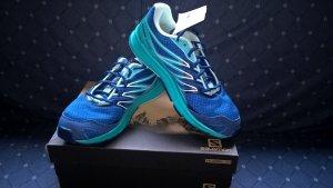 Neue Salomon Sense Link Sneaker Laufschuhe Größe 41 42