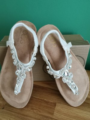 5th Avenue Sandalen wit Leer