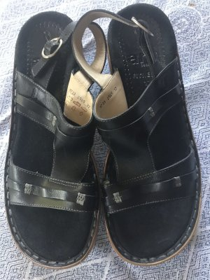 ara Comfort Sandals black leather