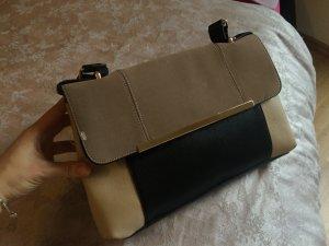 Neue schöne Tasche - beige/schwarz