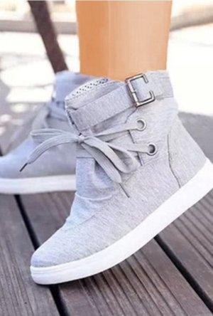 100% Fashion Instapsneakers grijs