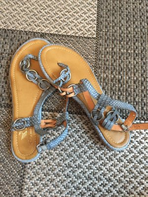 Fritzi aus preußen High-Heeled Toe-Post Sandals multicolored