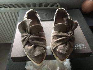 Neue Schuhe von Kennel uns Schmenger Pia Größe 38 grau -braun