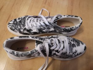 Neue Schwarz weiß Schuhe