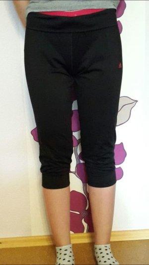 Neue schwarze 3/4 Sporttights mit pinkem Bund der Marke Adidas in Größe 34/36
