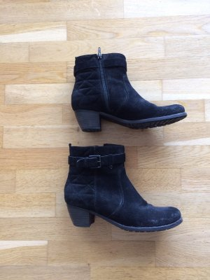 Kennel und Schmenger Low boot noir cuir