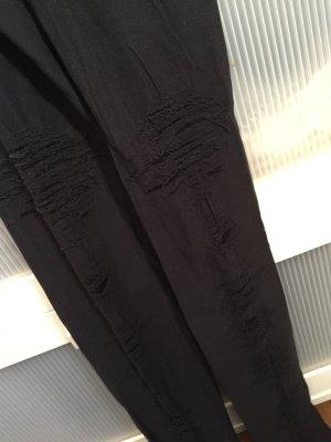 neue schwarze Calzedonia Strumpfhose Leggings used look
