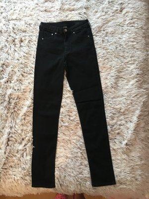Neue!! schwarze high waist Hosen
