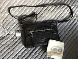 Fossil Shoulder Bag black leather