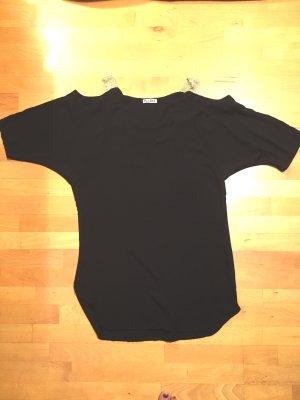 NEUE Schwarze Tunika Bluse mit Goldträger für jede Gelegenheit