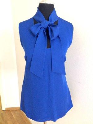 Michael Kors Zijden blouse blauw Zijde