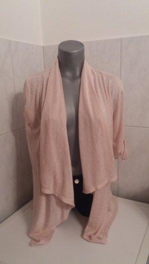 Chaqueta estilo camisa rosa