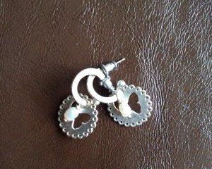 NEUE Silber-Ohrringe mit Perle von hultquist Copenhagen