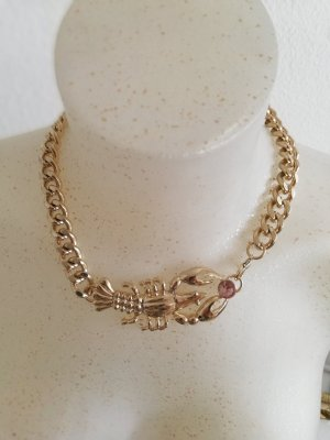 H&M Chain gold-colored-light pink