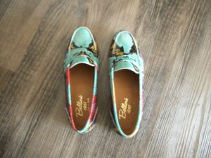 Slippers multicolored leather