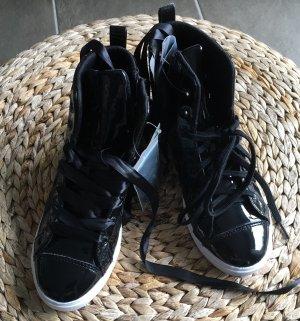 Hummel Zapatillas negro-blanco