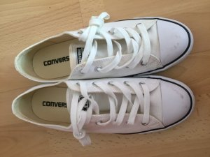 neue Sneaker Converse Chucks All Star Dainty Canvas Ox W weiß