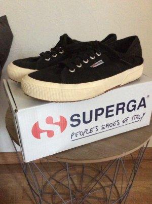 Neue!! Sneaker Superga schwarz Gr. 38