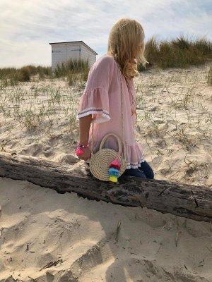 Tunique de plage rose clair